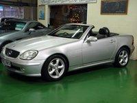 2003 MERCEDES-BENZ SLK 2.0 SLK200 KOMPRESSOR 2d 163 BHP £2995.00