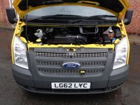 USED 2012 62 FORD TRANSIT 2.2 300 1d 124 BHP