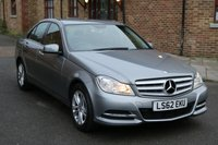 2012 MERCEDES-BENZ C CLASS 2.1 C220 CDI BLUEEFFICIENCY EXECUTIVE SE 4d 168 BHP £11250.00