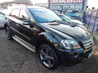 USED 2008 58 MERCEDES-BENZ M CLASS 3.0 ML280 CDI EDITION 10 5d AUTO 188 BHP SERVICE HISTORY, SAT NAV, LEATHER, BLUETOOTH