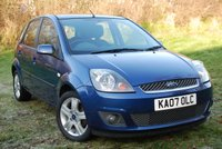 USED 2007 07 FORD FIESTA 1.2 ZETEC CLIMATE 16v 5 Door Hatchback [78 bhp]