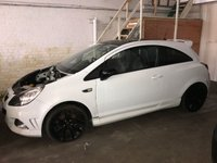 USED 2009 VAUXHALL CORSA 1.6 VXR ARCTIC EDITION 192 BHP Project Car / Spares & Repairs