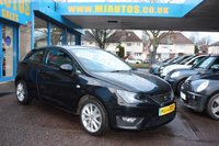 USED 2012 62 SEAT IBIZA 1.6 CR TDI FR 3dr £30 Road Tax, Very Economical DIESEL 65 MPG