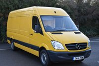 2011 MERCEDES-BENZ SPRINTER 2.1 313 CDI  5d 129 BHP LWB HIGH ROOF DIESEL MANUAL VAN  £5190.00