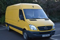 2011 MERCEDES-BENZ SPRINTER 2.1 313 CDI  5d 129 BHP LWB HIGH ROOF DIESEL MANUAL VAN  £5790.00