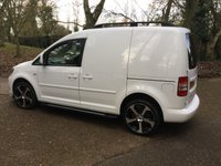 USED 2014 64 VOLKSWAGEN CADDY 1.6 C20 TDI STARTLINE 1d 101 BHP SAT NAV, NEW 18 INCH ALLOYS, BLUETOOTH