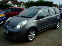 USED 2006 56 NISSAN NOTE 1.6 SE 5d AUTO 109 BHP BUY NOW 1ST PAYMENT NOV 2017