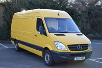 2011 MERCEDES-BENZ SPRINTER 2.1 313 CDI  5d 129 BHP LWB HIGH ROOF DIESEL MANUAL VAN  £4990.00