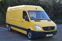 2011 MERCEDES-BENZ SPRINTER 2.1 313 CDI  5d 129 BHP LWB HIGH ROOF DIESEL MANUAL VAN  £7590.00