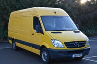 2011 MERCEDES-BENZ SPRINTER 2.1 313 CDI  5d 129 BHP LWB HIGH ROOF DIESEL MANUAL VAN  £6890.00