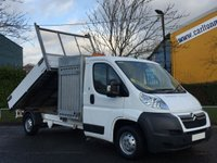 2011 CITROEN RELAY Citroen Relay 35 L3 Tipper / Toolbox Alloy Body Low Mileage Free UK Delivery £8950.00