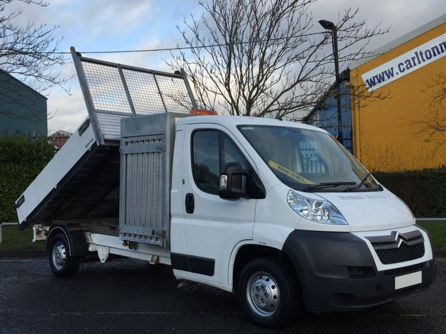 2011 60 CITROEN RELAY Citroen Relay 35 L3 Tipper / Toolbox Alloy Body Low Mileage Free UK Delivery