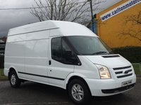 2013 FORD TRANSIT Transit 350 TDCi 125 [ Limited ] High Roof Van Fwd Free UK Delivery £8950.00
