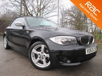 2013 BMW 1 SERIES 2.0 118I EXCLUSIVE EDITION 2d AUTO CONVERTIBLE 141 BHP  £11950.00