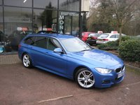 2013 BMW 3 SERIES 2.0 320D M SPORT TOURING 5d 181 BHP £14990.00
