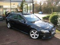 2009 AUDI A4 1.8 AVANT TFSI S LINE 5d 158 BHP £8990.00