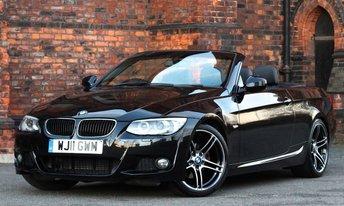 2011 BMW 3 SERIES 2.0 320D M SPORT 2d AUTO 181 BHP £13975.00