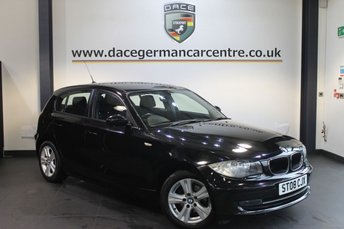 2008 BMW 1 SERIES 1.6 116I SE 5DR 121 BHP £4970.00