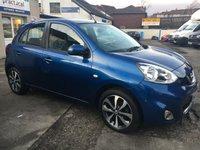 2013 NISSAN MICRA 1.2 TEKNA DIG-S 5d AUTO 97 BHP £SOLD