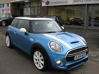 USED 2014 64 MINI HATCH COOPER 2.0 COOPER S 3d 189 BHP Panoramic Sunroof Chilli Pack Xenons Half Leather Full MINI History