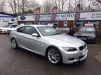 2008 BMW 3 SERIES 2.0 320I M SPORT 2d 168 BHP £6995.00