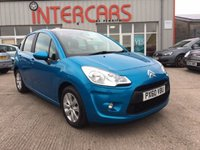 USED 2010 60 CITROEN C3 1.4 VTR PLUS HDI 5d 68 BHP ONLY 2 OWNERS FROM NEW WITH FULL SERVICE HISTORY ( 4 STAMPS IN THE BOOK ), ALLOY WHEELS, AIR CON, CRUISE CONTROL