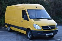 2011 MERCEDES-BENZ SPRINTER 2.1 313 CDI  5d 129 BHP LWB HIGH ROOF DIESEL MANUAL VAN  £5290.00