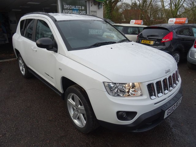 2013 13 JEEP COMPASS 2.1 CRD LIMITED 4WD 5d 161 BHP