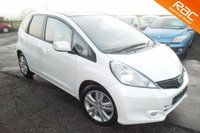 USED 2013 63 HONDA JAZZ 1.3 I-VTEC EX 5d 98 BHP FINISHED IN WHITE ORCHID PEARL