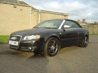 2007 AUDI A4 2.0 TDI SPORT 2d 141 BHP CONVERTIBLE £6250.00
