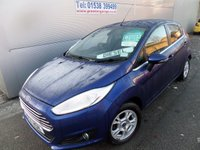 2014 FORD FIESTA 1.6 TITANIUM ECONETIC TDCI 5d 94 BHP START STOP £0 ROAD TAX GROUP £7695.00