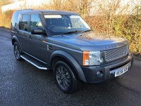 USED 2007 56 LAND ROVER DISCOVERY 2.7 3 TDV6 SE 5d AUTO 188 BHP MEGA HISTORY & NEW ENGINE FITTED WITH £12,500 RECEIPT