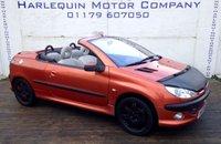 2001 PEUGEOT 206 2.0 COUPE CABRIOLET SE 2d 135 BHP £899.00