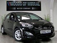 2012 HYUNDAI I30 1.6 ACTIVE BLUE DRIVE CRDI 5d 109 BHP £6480.00