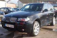 2007 BMW X3 3.0 D M SPORT 5d AUTO 282 BHP £6995.00