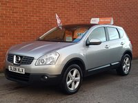 2008 NISSAN QASHQAI 1.5 TEKNA DCI 5d HEATED LEATHER SEATS £5495.00