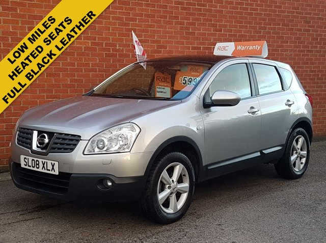 2008 08 NISSAN QASHQAI 1.5 TEKNA DCI 5d HEATED LEATHER SEATS