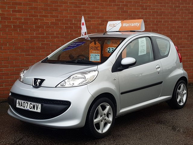 2007 07 PEUGEOT 107 1.0 URBAN  LOW MILES £20 ROAD TAX