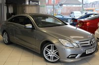 USED 2011 60 MERCEDES-BENZ E CLASS 2.1 E250 CDI BLUEEFFICIENCY SPORT 2d 204 BHP HEATED BLACK LEATHER SEATS + FULL SERVICE HISTORY + PANORAMIC ROOF + AMG STYLING PACK + 18 INCH ALLOYS + PARKING GUIDANCE + DAB RADIO