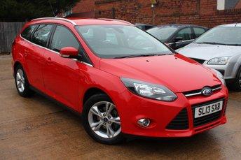 2013 FORD FOCUS 1.6 ZETEC 5d AUTO 124 BHP £7995.00