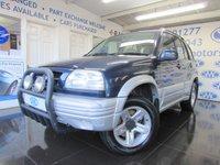 1999 SUZUKI GRAND VITARA 2.5 V6 5d 142 BHP £995.00
