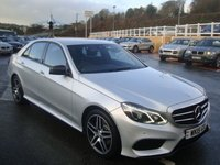 USED 2015 15 MERCEDES-BENZ E 250 E250 CDI Twin Turbo AMG LINE NIGHT EDITION Diesel Auto Saloon 201bhp Model. Sat Nav, leather, Multimedia, Bluetooth, AMG Body & alloys ++