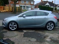 2014 VAUXHALL ASTRA 1.4 LIMITED EDITION 5d 140 BHP £8999.00