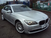 USED 2010 60 BMW 7 SERIES 3.0 730D SE 4d AUTO 242BHP FSH+LEAHER+SATNAV+20 IN ALLOYS+TOP SPEC+LOADS EXTRAS+
