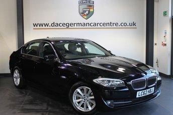 2013 BMW 5 SERIES 2.0 520D SE 4DR AUTO 181 BHP £14940.00