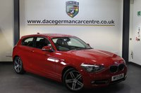 USED 2013 13 BMW 1 SERIES 1.6 116I SPORT 3DR 135 BHP + 1 OWNER FROM NEW + BLUETOOTH + SPORT SEATS + + DAB RADIO + AUXILIARY PORT + 17 INCH ALLOY WHEELS +