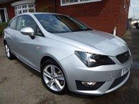 2013 SEAT IBIZA 1.6 CR TDI FR 3d 104 BHP Sat Nav & Bluetooth Included £5999.00
