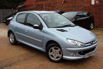 2006 PEUGEOT 206 1.4 SPORT S 5d 88 BHP £1995.00