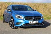 2013 MERCEDES-BENZ A CLASS 1.8 A200 CDI BLUEEFFICIENCY SPORT 5d AUTO 136 BHP £15950.00