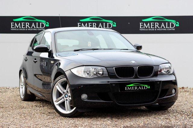 2008 08 BMW 1 SERIES 2.0 120I M SPORT 5d 168 BHP